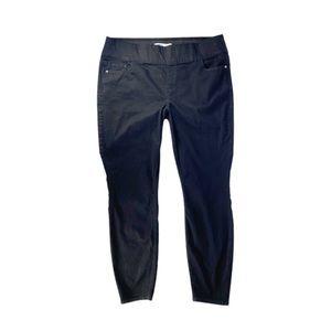Old Navy Rockstar Jeans Super Skinny High Rose Blk
